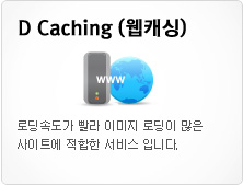 D Caching 웹개싱
